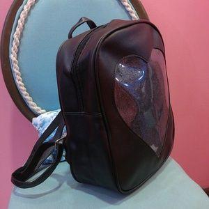 Bags - NEW transparent heart ita bag backpack